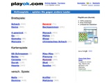 PlayOk.com Homepage